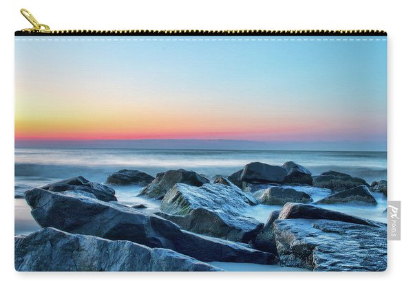 Quiet Beach Haven Morning II Carry-all Pouch
