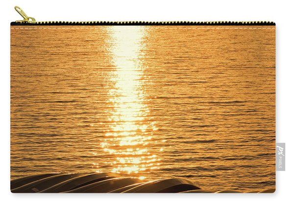 Carry-all Pouch featuring the photograph Quinault Sunset Retake by Michael Hope