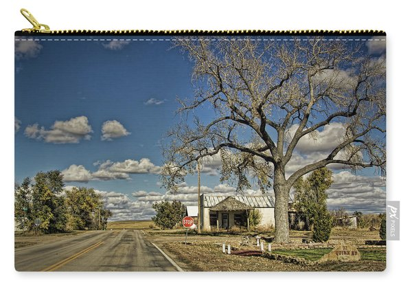 Quinn Town, South Dakota Country Road Carry-all Pouch