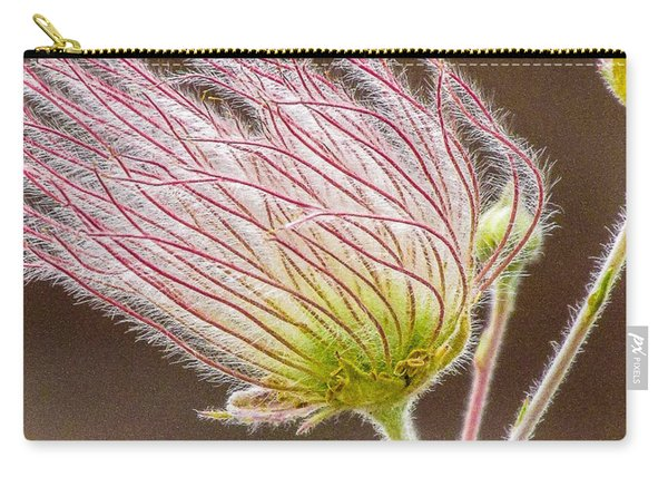 Quirky Red Squiggly Flower 1 Carry-all Pouch
