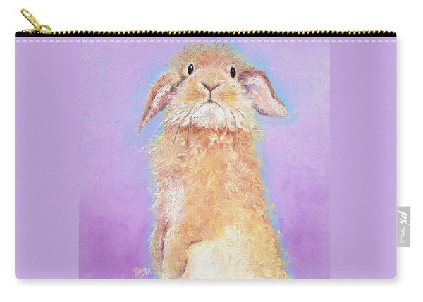 Rabbit Painting - Babu Carry-all Pouch