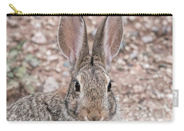 Rabbit Stare Carry-all Pouch