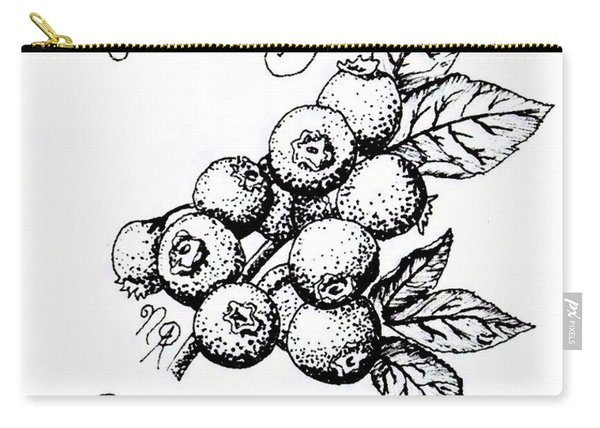 Rabbiteye Blueberry Carry-all Pouch