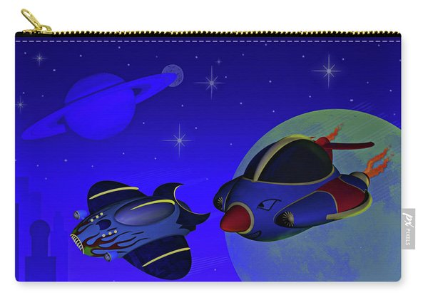 Race Thru Space Carry-all Pouch
