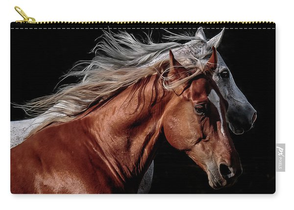 Racing With The Wind Carry-all Pouch