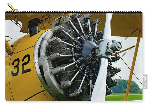 Radial Engine Carry-all Pouch