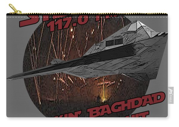 Radio Baghdad Carry-all Pouch