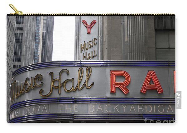 Radio City Marquis Carry-all Pouch