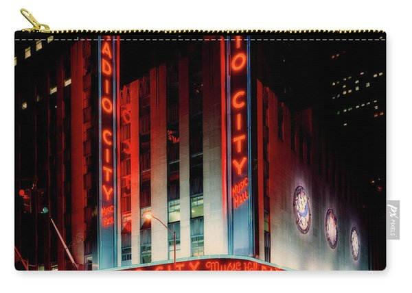 Radio City Music Hall 1990s Carry-all Pouch