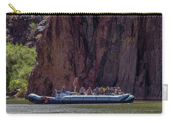 Rafters On The Colorado River, Grand Canyon Carry-all Pouch