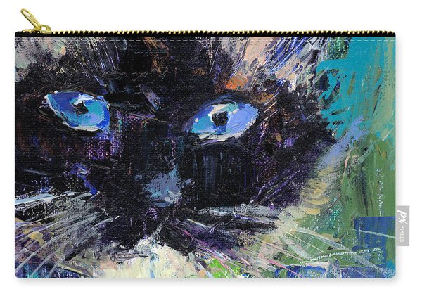 Ragdoll Cat Painting Carry-all Pouch