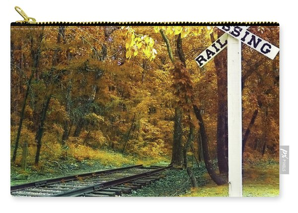 Rail Road Crossing To Neverland Carry-all Pouch