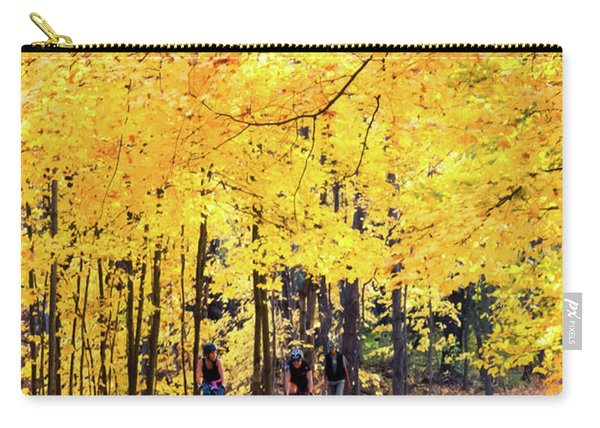 Autumn Glory On The Rail Trail Carry-all Pouch