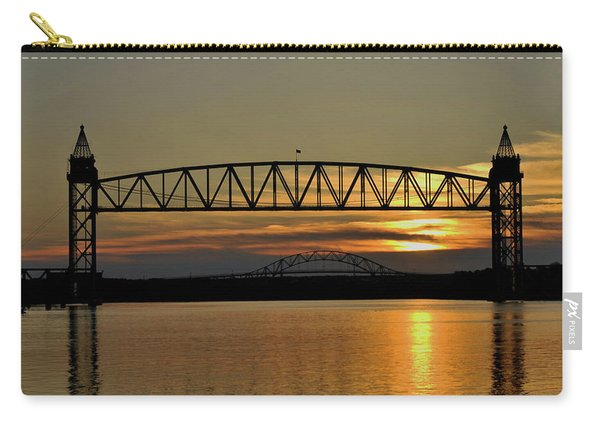 Railroad Bridge Over The Canal Carry-all Pouch