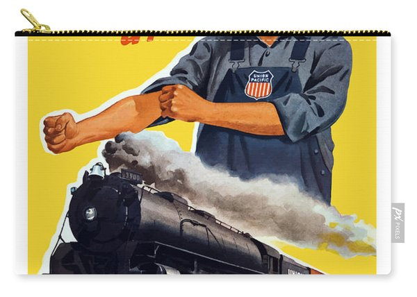 Railroads Are The First Line Of Defense Carry-all Pouch