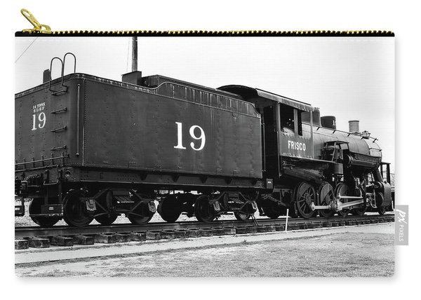 Railway Engine In Frisco Carry-all Pouch