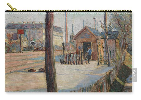 Railway Junction Near Bois-colombes  Carry-all Pouch