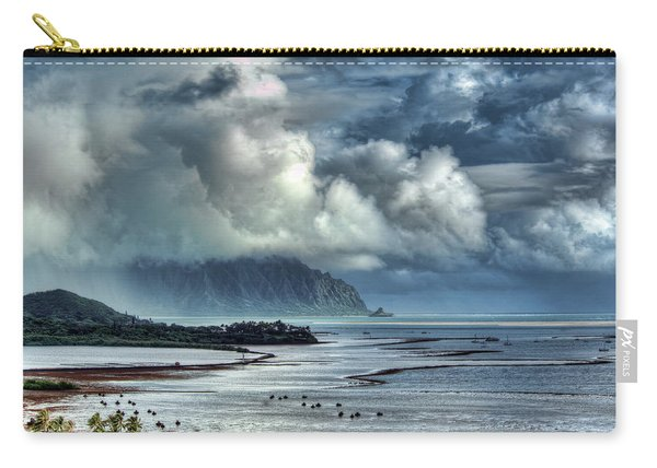 Rain Clearing Kaneohe Bay Carry-all Pouch