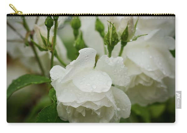 Rain Drops In Our Garden Carry-all Pouch
