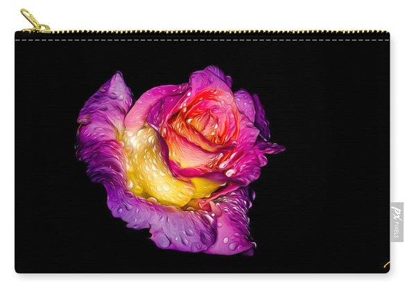 Rain-melted Rose Carry-all Pouch