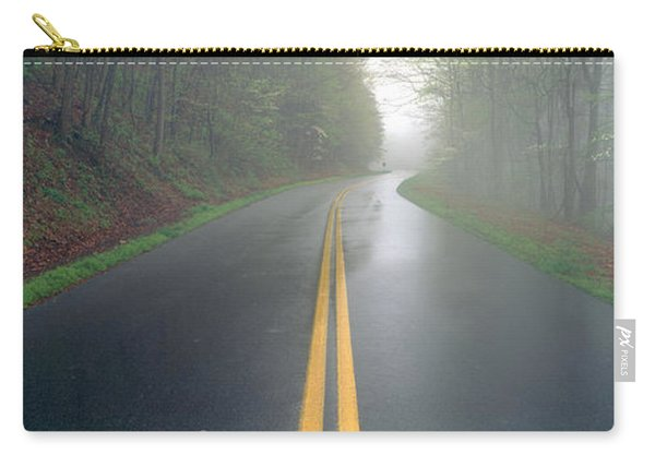 Rain On Foothill Parkway, Great Smokey Carry-all Pouch