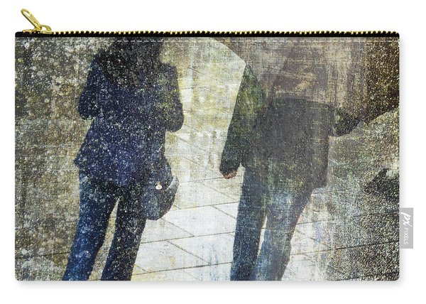 Rain Through The Fountain Carry-all Pouch