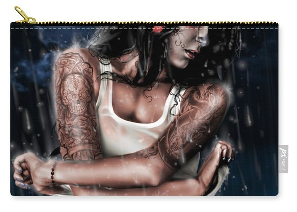 Rain When I Die Carry-all Pouch