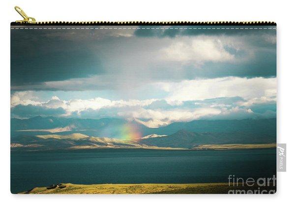 Rainbow Above Lake Manasarovar Kailash Yantra.lv Carry-all Pouch