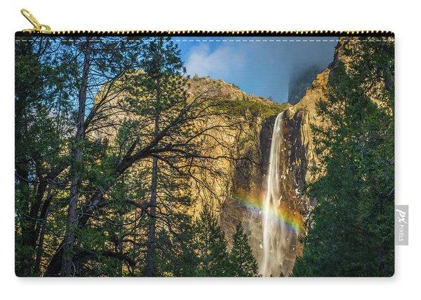 Rainbow And Bridalveil Fall Carry-all Pouch
