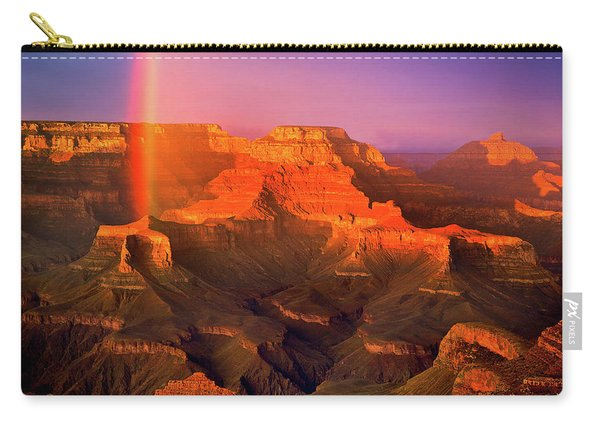 Rainbow At The Grand Canyon Carry-all Pouch
