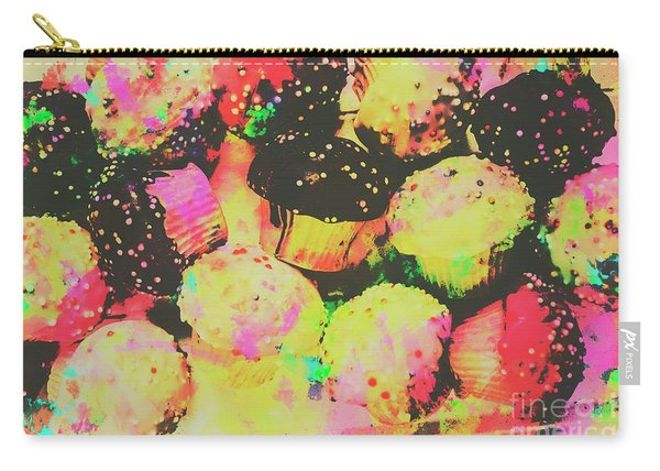 Rainbow Color Cupcakes Carry-all Pouch