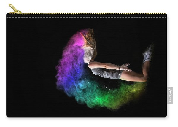 Rainbow Crescent Carry-all Pouch