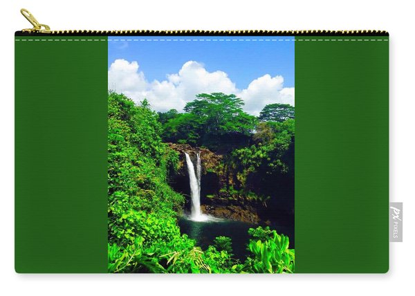 Rainbow Falls Hilo Hawaii Carry-all Pouch