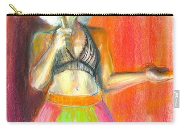 Carry-all Pouch featuring the drawing Rainbow by Gabrielle Wilson-Sealy