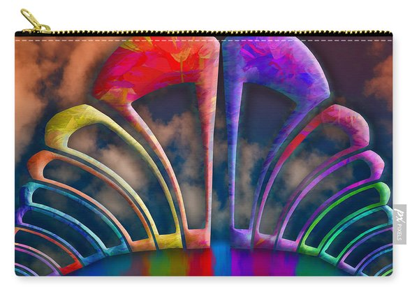 Rainbow Hill Carry-all Pouch