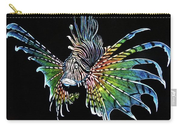 Rainbow Lion Fish Carry-all Pouch