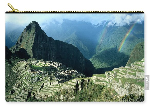 Rainbow Over Machu Picchu Carry-all Pouch