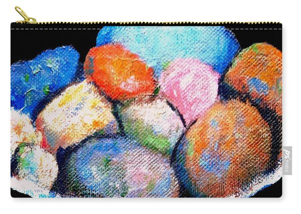 Rainbow Pebbles Carry-all Pouch