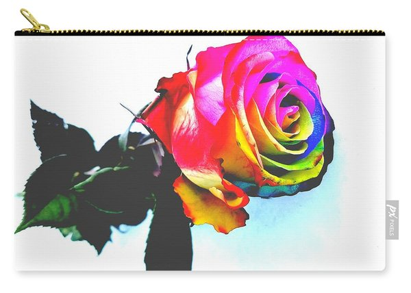 Rainbow Rose 2 Carry-all Pouch