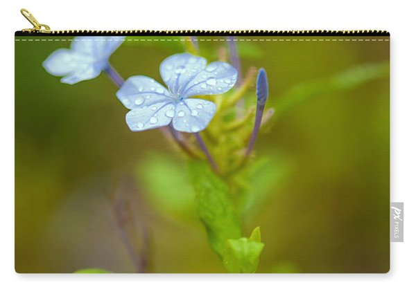 Raindrops On Petals Carry-all Pouch