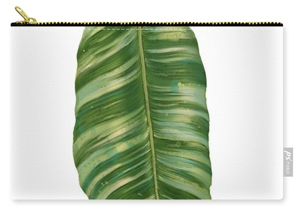 Rainforest Resort - Tropical Banana Leaf  Carry-all Pouch