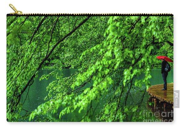 Raining Serenity - Plitvice Lakes National Park, Croatia Carry-all Pouch