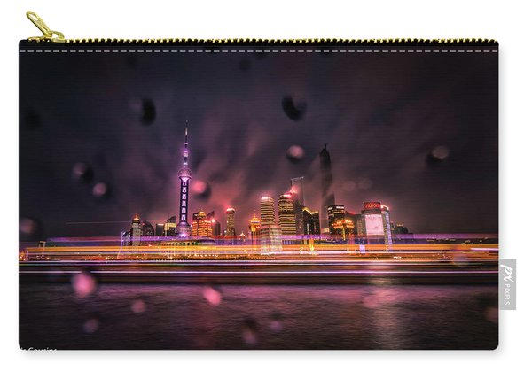 Rainy Night In Shanghai Carry-all Pouch