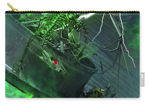 Raising The Dragon Carry-all Pouch