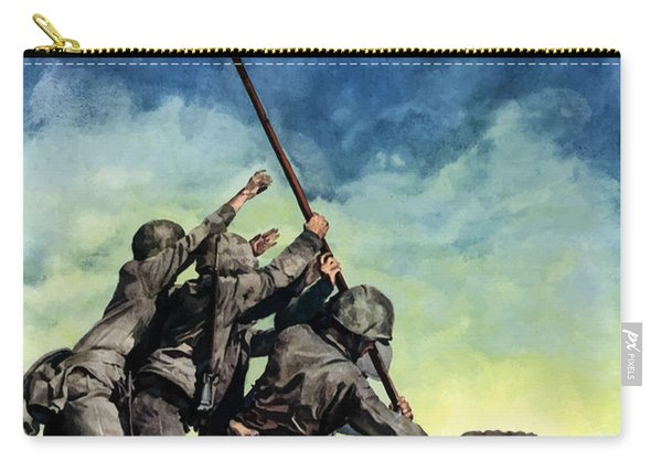 Raising The Flag On Iwo Jima Carry-all Pouch
