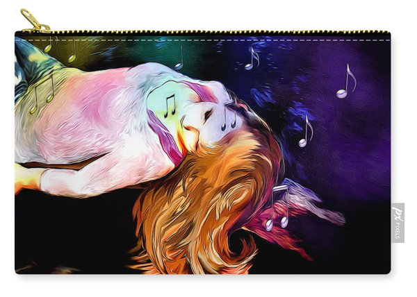 Raising Your Vibration Carry-all Pouch