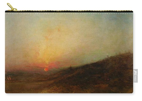 Ralph Albert Blakelock  1847  1919  Indian Encampment At Sunset Carry-all Pouch