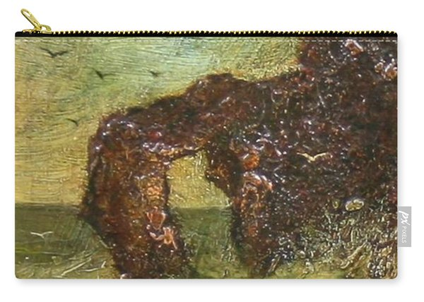 Ralph Albert Blakelock  1847  1919  Marine, Seal Rock Carry-all Pouch
