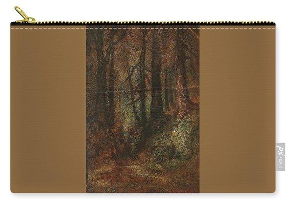 Ralph Albert Blakelock  1847  1919  Woodland Stream Carry-all Pouch
