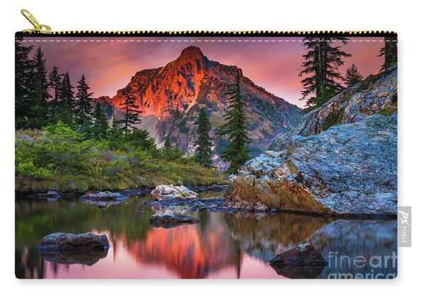 Rampart Lakes Tarn Carry-all Pouch